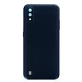 Задняя крышка Samsung A015F Galaxy A01, синяя