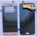 Дисплей для Samsung A520F Galaxy A5 (2017) розовый, с сенсорным экраном, (OLED)