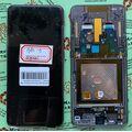 Дисплей для Samsung A805 Galaxy A80, с сенсорным экраном, с рамкой, Service pack