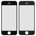 Стекло корпуса для Apple iPhone 5c, с рамкой, с OCA-пленкой, original, черное