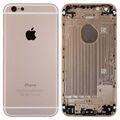 Корпус для iPhone 6, золотой, с держателем SIM-карты, с боковыми кнопками