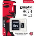 Kingston Micro SD 8Gb + адаптер для SD, 10 class