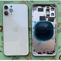 Корпус для iPhone 11 Pro, белый, с держателем SIM-карты, с боковыми кнопками