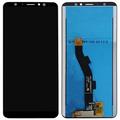 Дисплей для Meizu M8/V8/V8 Pro черный, с сенсорным экраном, Original (PRC)