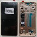 Дисплей для Xiaomi Mi 8 SE, золотистый, с сенсорным экраном, с рамкой, Original (PRC)