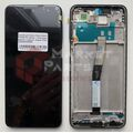 Дисплей для Xiaomi Redmi Note 9 Pro/Note 9s черный, с сенсорным экраном, с рамкой, Original (PRC)