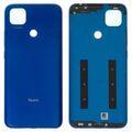 Задняя крышка Xiaomi Redmi 9С, синяя