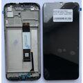 Дисплей для Xiaomi Redmi 9T, Xiaomi Poco M3 черный, с сенсорным экраном, с рамкой, Original (PRC)
