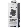 Remax TWS-16 True wireless earphones, Bluetooth, black