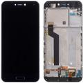 Дисплей для Xiaomi Mi 5с, черный, с сенсорным экраном, с рамкой, Original (PRC)